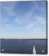Sailing Charleston Harbor Acrylic Print