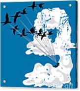Sailing Cloud Nine Acrylic Print