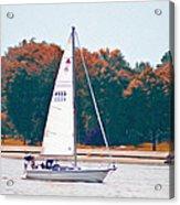 Sailing Day Acrylic Print