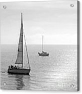 Sailing In Calm Waters Acrylic Print