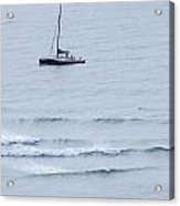 Sailing In For The Evening Acrylic Print
