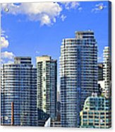 Sailing In Toronto Harbor Acrylic Print