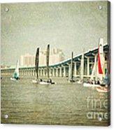 Sailing Acrylic Print