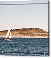 Sailing On Carter Lake Acrylic Print