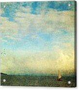 Sailing On The Sea Acrylic Print