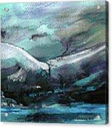 Sailing Over The Sea Acrylic Print