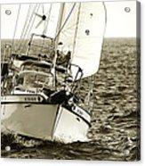 Sailing The Icw -1 Acrylic Print