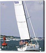 Sailing The Icw Acrylic Print