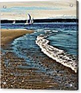 Sailing The Puget Sound Acrylic Print