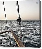 Sailing The Seas Acrylic Print