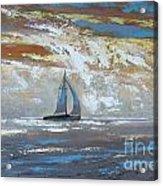 Sailing Through Acrylic Print