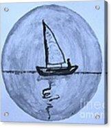 Sailing Thru The Night Acrylic Print