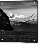 Sailing To Valdez Acrylic Print