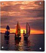 Sailing Yachts Acrylic Print