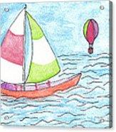 Sailor Acrylic Print