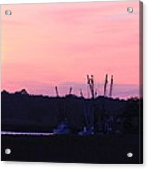 Sailors Delight Acrylic Print
