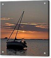 Sailor's Sunset Acrylic Print