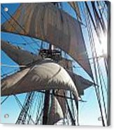 Sails And Sunshine Acrylic Print by L Jaye Bell