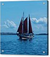 Sails Off The San Juans Acrylic Print