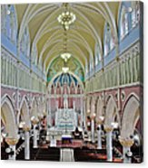 Saint Bridgets Gothic Church Acrylic Print