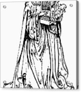 Saint Cecilia Acrylic Print by Granger