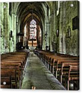 Saint Emilion Church Acrylic Print