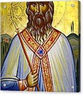 Saint Leolino Acrylic Print by Artur Sula