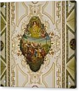 Saint Louis Cathedral Mural Acrylic Print