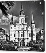 Saint Louis Cathedral Acrylic Print