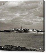 Saint-malo From Dinard. Acrylic Print