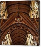 Saint Marys Church Interior 1 Acrylic Print