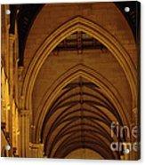 Saint Marys Church Interior 2 Acrylic Print