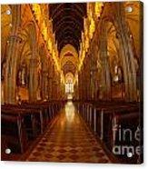 Saint Marys Church Interior 3 Acrylic Print