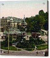 Saint Michael Monastery In Kiev - Ukraine - Ca 1900 Acrylic Print