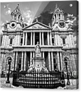 Saint Paul's Cathedral Acrylic Print