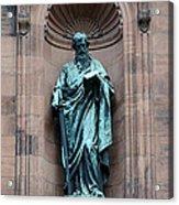 Saint Peter Statue - Historic Philadelphia Basilica Acrylic Print