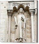 Saint Stephen Acrylic Print