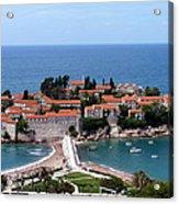 Saint Stephen In Montenegro Acrylic Print