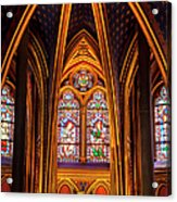 Sainte Chapelle Acrylic Print
