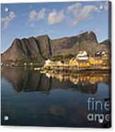 Sakrisoy Fishermen's Village II Acrylic Print
