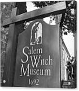 Salem Witch Museum Acrylic Print