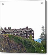 Salish Lodge And Spa Acrylic Print