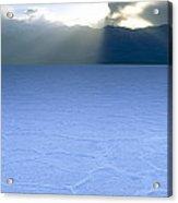 Salt Flat, Death Valley Acrylic Print