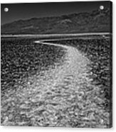 Salt Road Acrylic Print