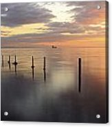 Saltcoats Seascape Acrylic Print