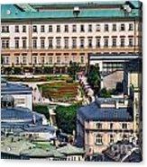 Salzburg II Austria Europe Acrylic Print by Sabine Jacobs