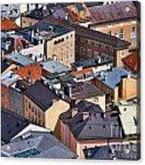 Salzburg's Roofs Austria Europe Acrylic Print