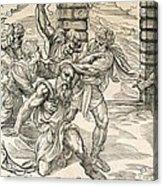 Samson And Delilah Acrylic Print