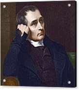 Samuel Crompton, British Inventor Acrylic Print by Sheila Terry
