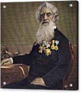 Samuel F.b. Morse (1791-1872) Acrylic Print